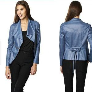 Joseph Ribkoff faux leather jacket
